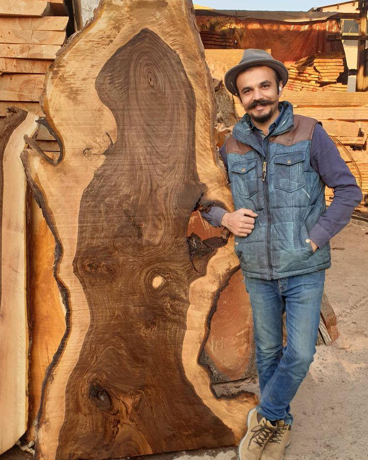 Davoud Shirazi is a santoor maker