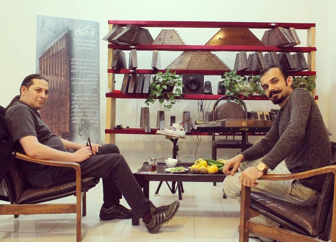 Davoud Shirazi with Ardavan Kamkar