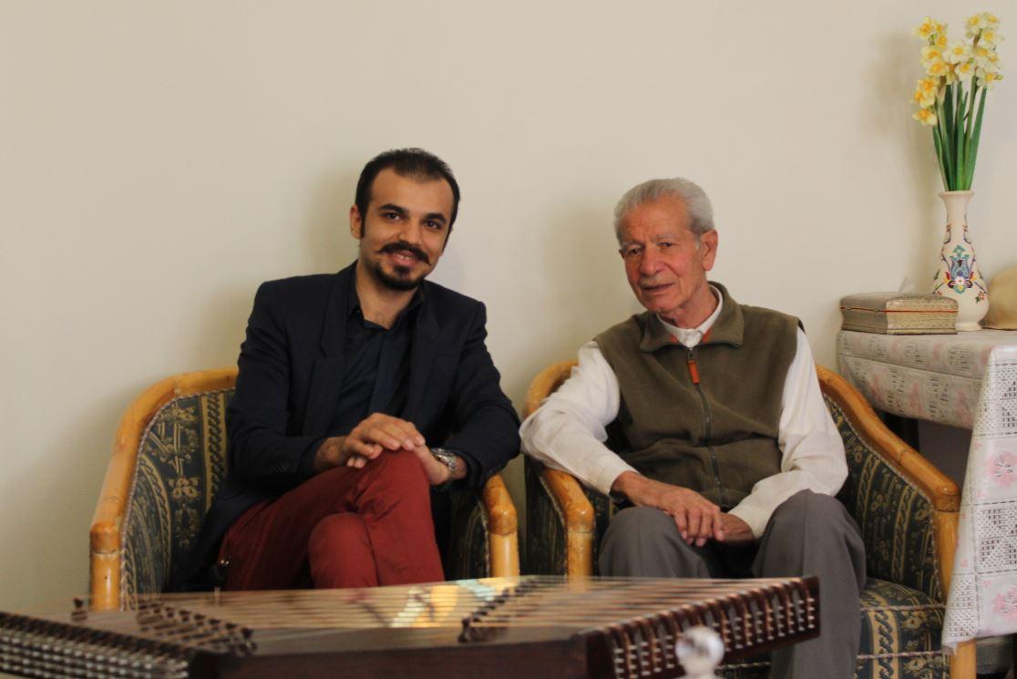 استاد ابراهیم قنبری مهر و داوود شیرازی