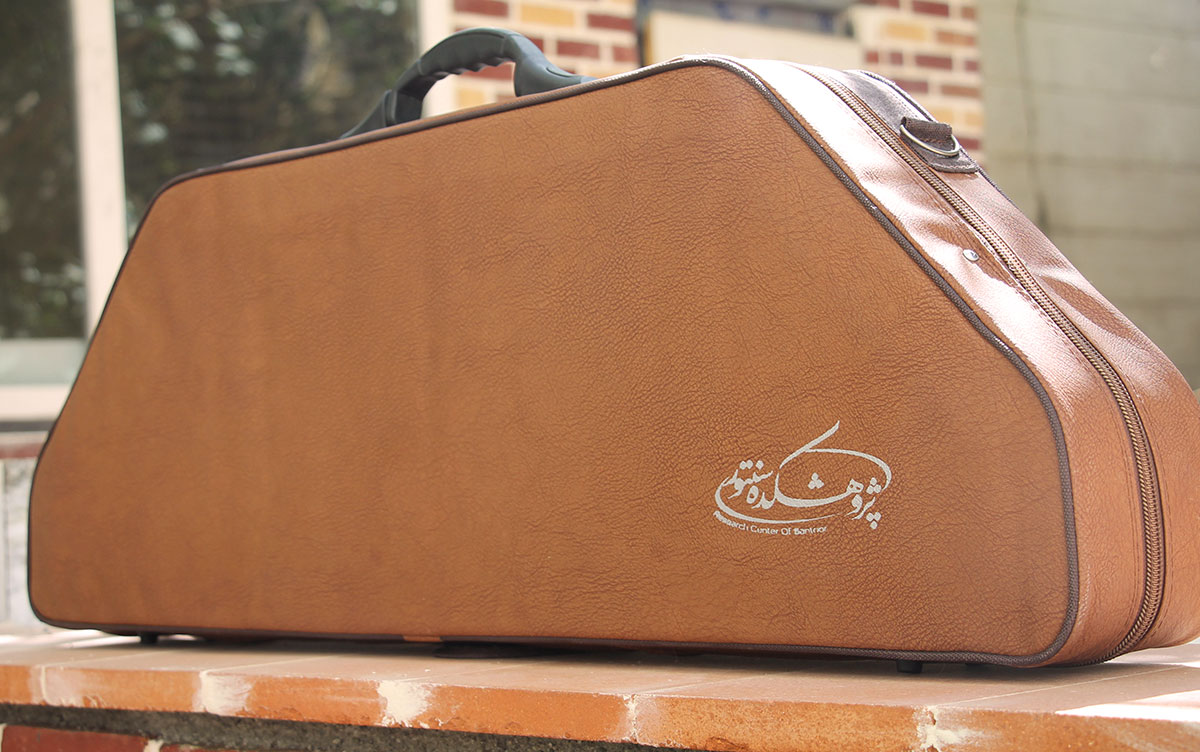 Santoor Bag/Case model: Trapezium Artificial Leather La