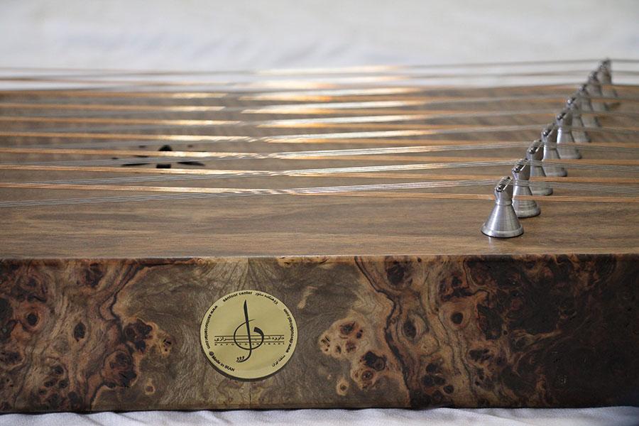 Persian Santoor by Davoud Shirazi - model Alto Special Do tuned